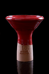 Cazoletas Kaya Shisha Clay Funnel Red