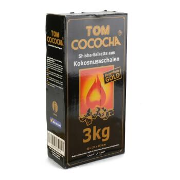 Carbón Natural Tom Cococha Gold 3kg