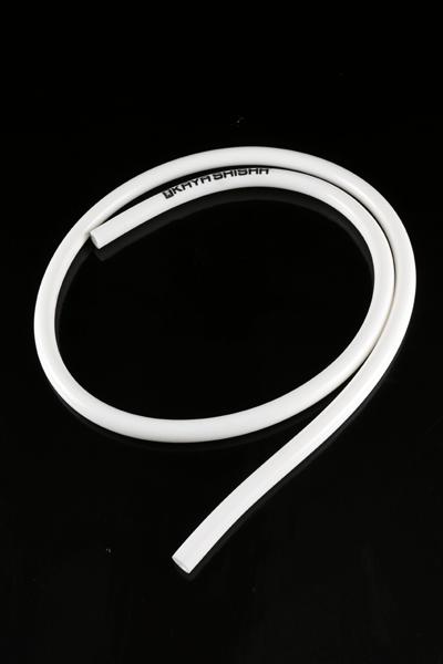 Manguera silicona blanca