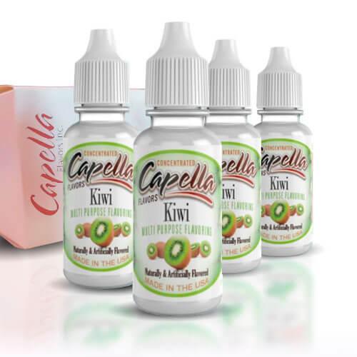 Alquímia Vapeo aroma Capella Double Kiwi