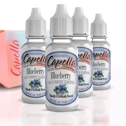 Alquímia Vapeo aroma Capella Blueberry