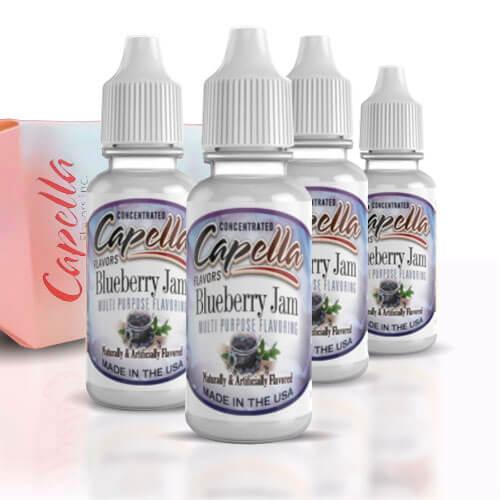 Alquímia Vapeo aroma Capella Blueberry Jam