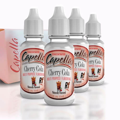 Alquímia Vapeo aroma Capella Cherry Cola