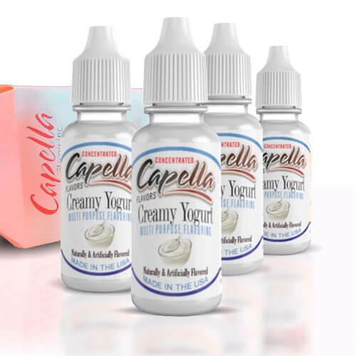 Alquímia Vapeo aroma Capella Creamy Yogurt