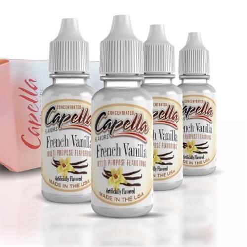 Alquímia Vapeo aroma Capella French Vanilla