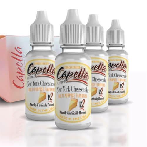 Alquímia Vapeo aroma Capella New York Cheesecake