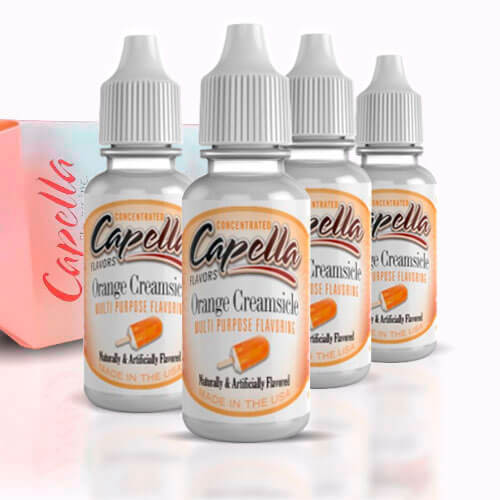 Alquímia Vapeo aroma Capella Orange Creamsicle