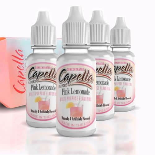 Alquímia Vapeo aroma Capella Pink Lemonade
