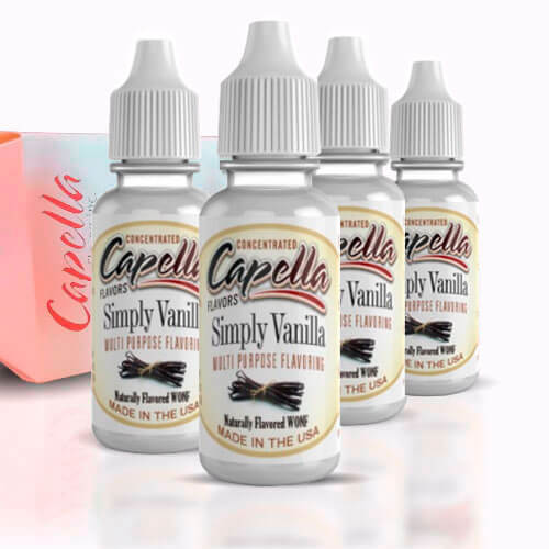 Alquímia Vapeo aroma Capella Simply Vanilla
