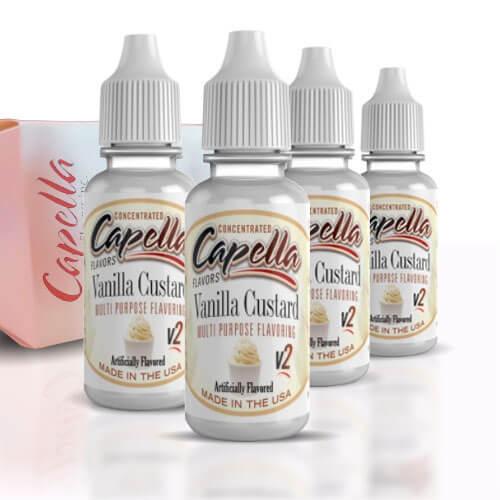 Alquímia Vapeo Capella Vanilla Custard