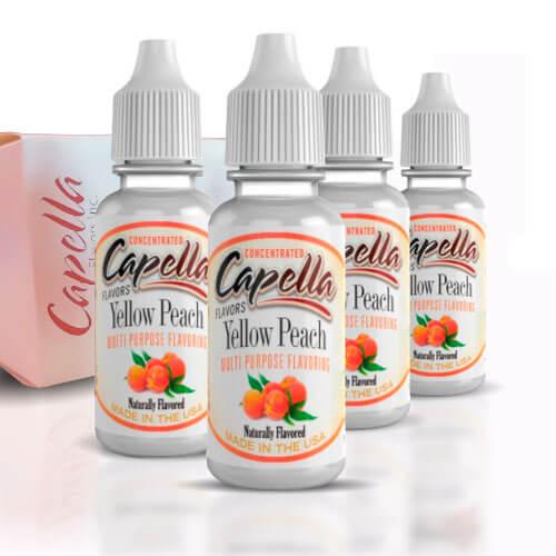 Alquímia Vapeo aroma Capella Yellow Peach