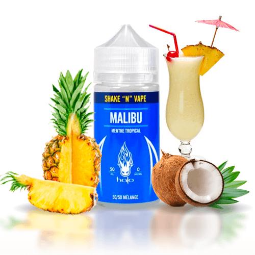 Líquidos Americanos Halo Malibu