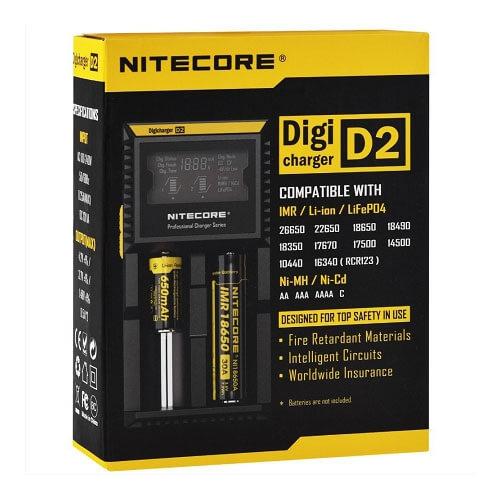 Accesorios Vapeo Nitecore Intellicharger D2