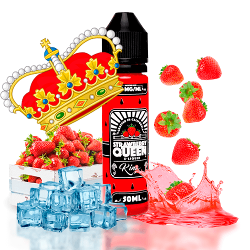 Líquidos Americanos Strawberry Queen Ice
