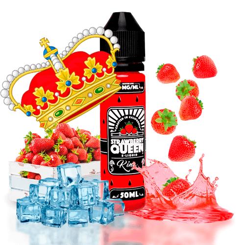 Líquidos Americanos Strawberry Queen Ice